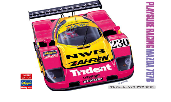 PLAYSURE RACING MAZDA 767B au 1/24