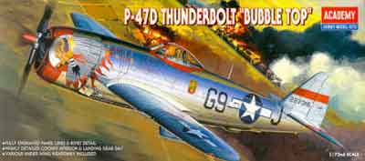 P-47D Bubble Top 1/72
