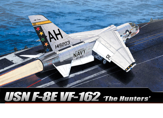 USN F-8E VF-162 The Hunters 1/72