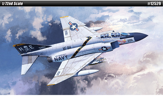 USN F-4j Phantom 1/72