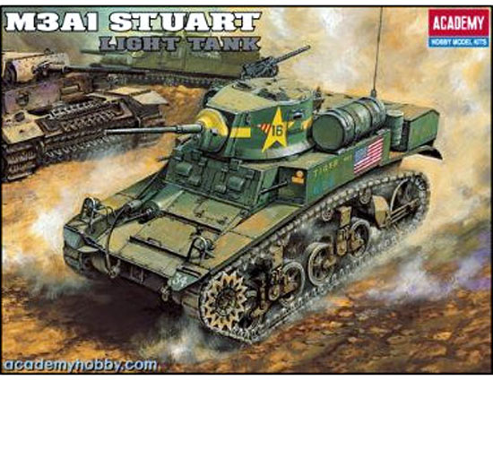 U.S. M3A1 STUART LIGHT TANK 1/35