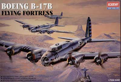 B-17B FLYING FORTRESS 1/72