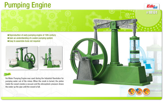 WATER PUMPING ENGINE