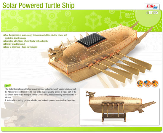 SOLAR POWER SHIP