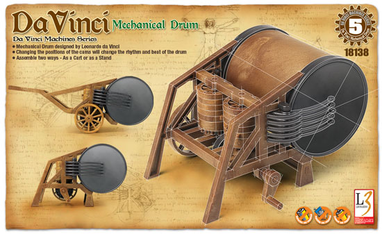 MECHANICAL DRUM LEONARD DE V.