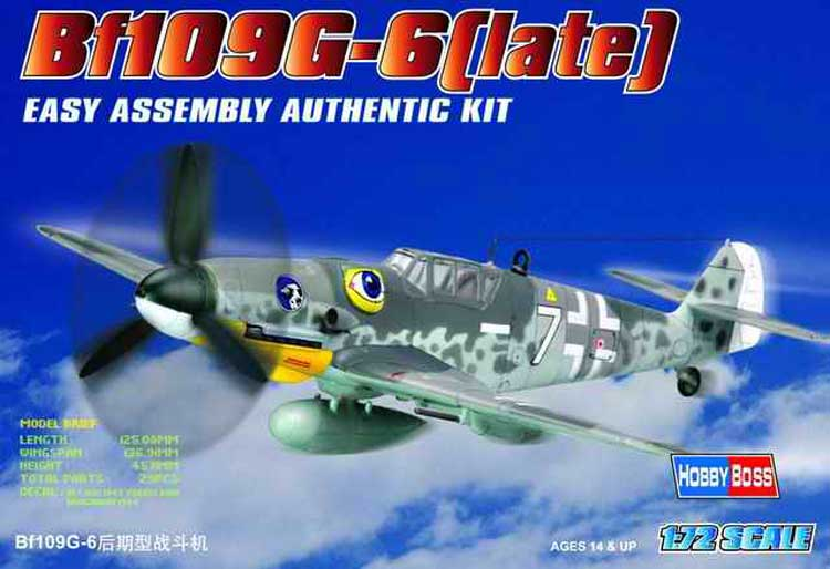 BF 109G Late 1/72