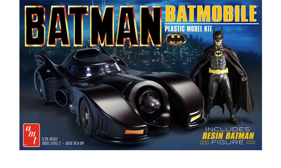 BATMOBILE 1989 +  BATMAN 1/25