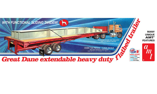 Great Dane extendable flat bed 1/25