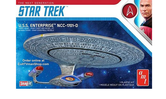 USS Enterprise Snap Kit 1/2500