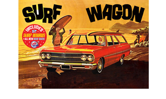 1965 Chevelle « Surf wagon » 1/25