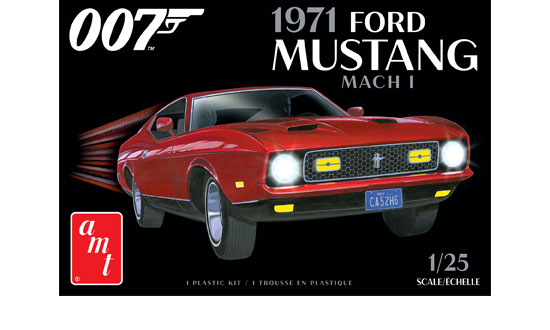 James Bond 1971 Ford Mustang Mach I 1:25