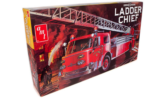 American LaFrance Ladder Chief Fire Truck 1:25