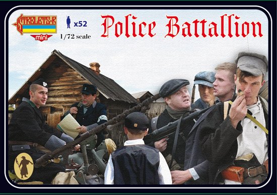 Bataillon Police Allemand 1/72