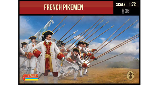 French Pikemen 1/72