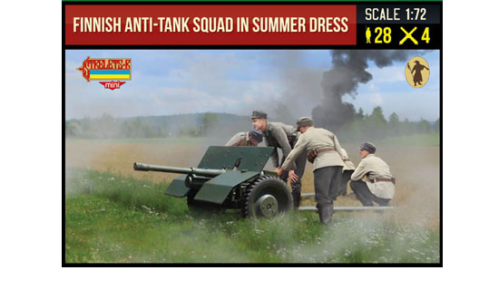 Finnish Anti-Tank Squad Summer 1/72
