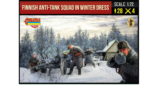 Finnish Anti-Tank Squad Winter 1/72