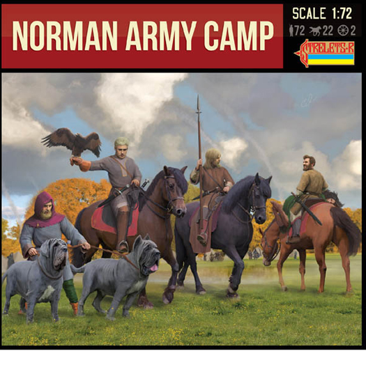 Norman Army Camp 1/72