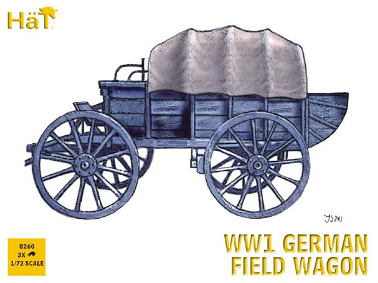 German Wagon WWI 1/72