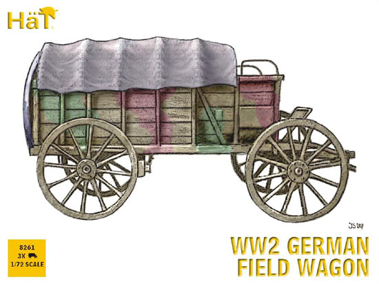 German Wagon WWII 1/72