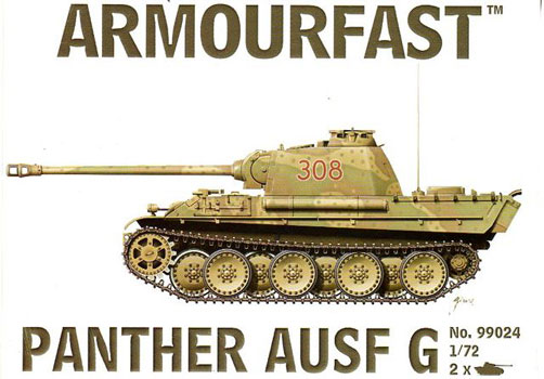 PANTHER AUSF G 1/72