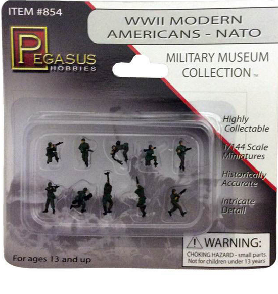 MODERN USA NATO PEINTS 1/144