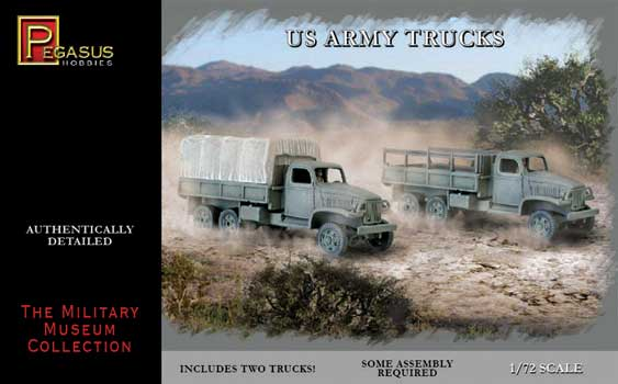 CAMIONS ARMEE US WWII 1/72